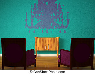 Two luxurious chairs