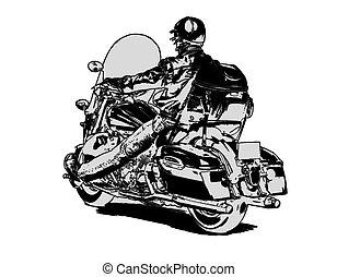 Easy rider - biker