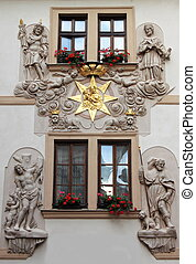 Renaissance palace in Prague - Renaissance style palace in...