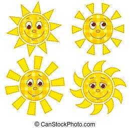パッチワーク, 太陽