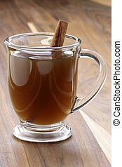 hot fresh apple cider - Nothing beats a mug of hot cider on...