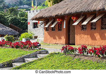 Soil house - Traditional soil house in small village of...
