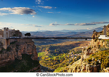 City of Constantine, Algeria - Constantine, the City of...