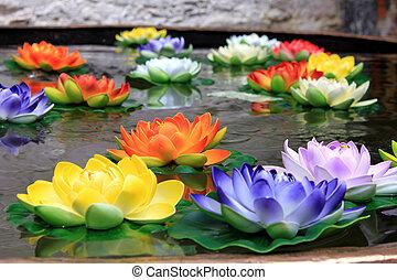 religion flower in Jokhang Temple