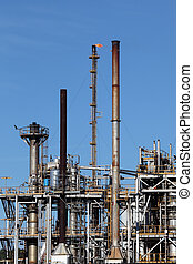 Petrochemical industry oil refinery