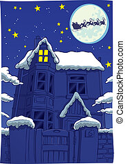 Twas the night before Christmas - The night before Christmas...