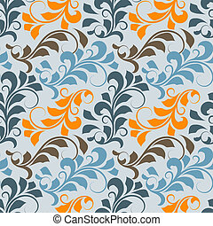 Vector seamless floral pattern,fully editable eps 8 file...