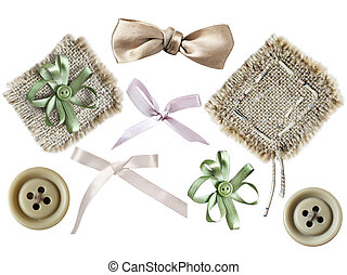 Set of elements for scrapbooking - Collection of elements...