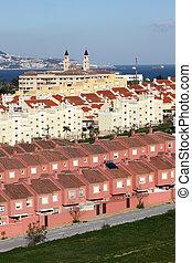 Urbanization in Algeciras. Province of Cadiz, Andalusia Spain
