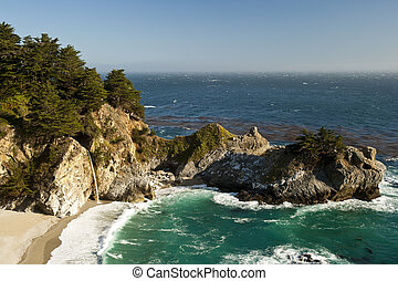 McWay Cove in California. Part of the JuliaPfeiffer Burns...