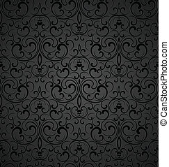 Seamless royal decorative wallpaper