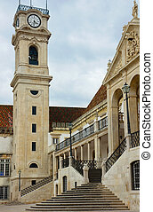 stairs of University of Coimbra, Portugal