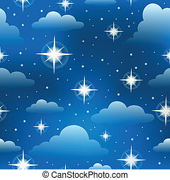 Seamless background with stars 3 - eps10 vector...