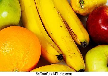 Fruit selection.