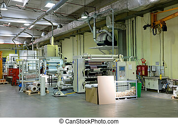 Factory of packing