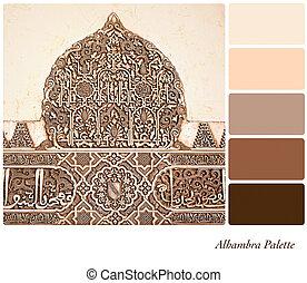 Alhambra palette