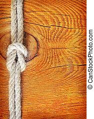 繩子, 木制, 背景