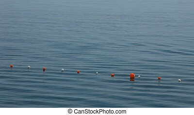 Floating beacons - Beacons floating on the sea surface