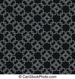 Chain pattern - Seamless hand drawn pattern with chains....