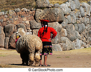 Cuzco - Stock Photography  - Cuzco, Persons.