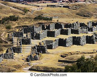 Cuzco - Stock Photography  - Cuzco, Sacsayhuaman.