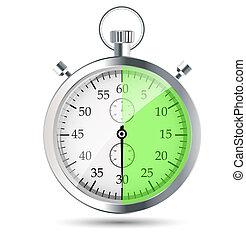 stopwatch vector illustraion