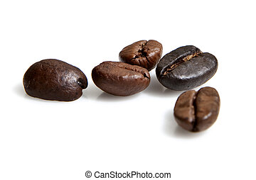 coffee beans - five coffee beans