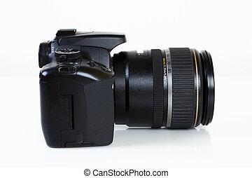 DSLR Camera - side view - Digital Single Lens Reflex Camera...