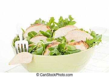 salada, gostosa