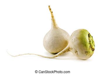 turnip isolated on white background