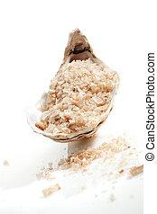 Wellness spa sea salt.