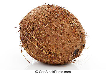 Coconut isolated.