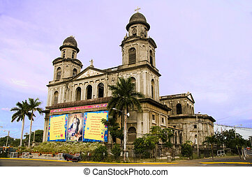 editorial Old Cathedral Managua catedral Santo Domingo - Old...