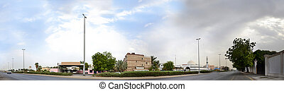 South Jeddah panoramic image - Credit line HTML Code: Ayed...