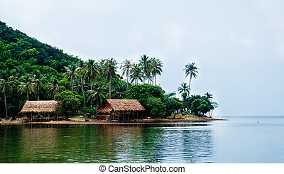 Ba Lua Islands, Kien Giang, Vietnam - Landscape of Ba Lua...