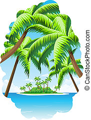 Summer Vacation Background - Background Summer Vacation with...