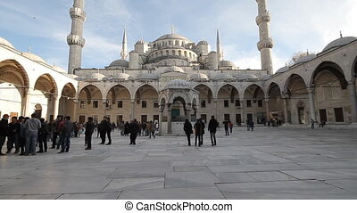 Sultan Ahmet Mosque - ISTANBUL, TURKEY - December 08:...