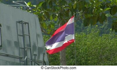 Tsunami police boat Khao Lak - Khao Lak / Thailand - May 13:...