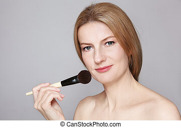 Make-up for middle age
