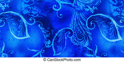 Batik Abstract - Batik design abstract on a piece of...
