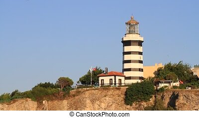 Sile lighthouse, Istanbul, Turkey
