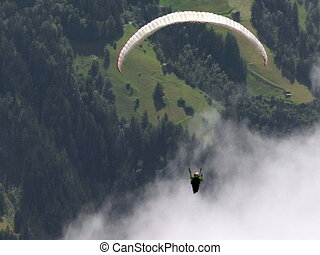 paraglider fly out of picture 01