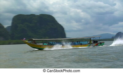 Phang Nga boat to boat shot