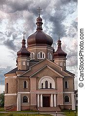 Church in the village Zapytov Lviv region