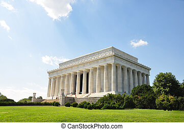 Abraham Lincoln Memorial - The Abraham Lincoln Memorial in...