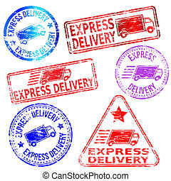 Express Delivery Stamps