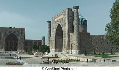 Registanquare in samarkand - Tylia-Kori and Sher-Dor...