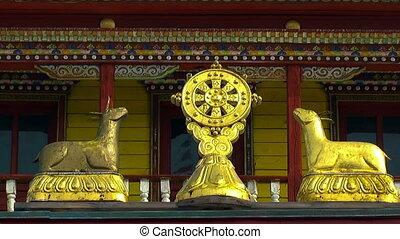 buddhist symbol wheel of life - Buddhist Symbol Dharmacakra,...
