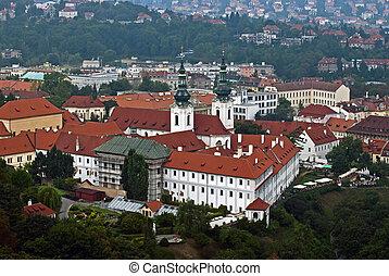 View on Strahov monastery, Prague