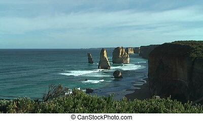 rock formation twelve apostles - Famous rock formation...